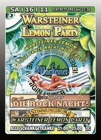 Warsteiner Lemon Party@Excalibur