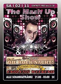 The Mash Up Show mit Gordon  Doyle@Excalibur