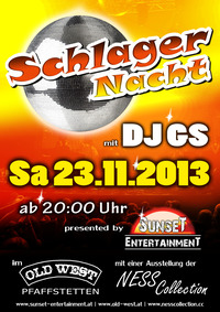 Schlager Nacht mit DJ GS