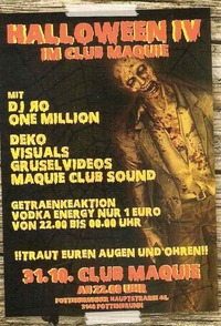 Halloween IV mit DJ Ro & One Million