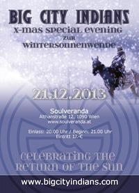 Big City Indians X-Mas Special Evening@Soulveranda