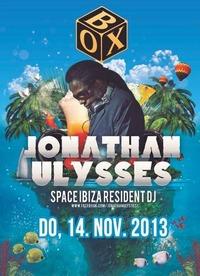 Feier Abend presents Jonathan Ulysses  Box@BOX Vienna