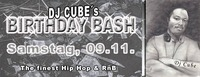 Dj Cubes Birthday Bash
