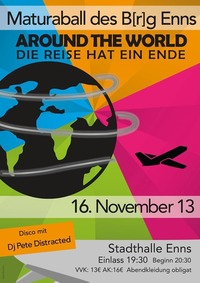 Maturaball BRG Enns - Around the World - Die Reise hat ein Ende