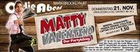 Matty Valentino am Oldie Abend - Freier Eintritt@Brooklyn