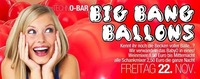 Techno-bar  Big Bang Ballons@Baby'O