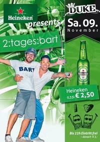 Heineken pres. 2:tages:bart