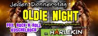 Oldie Night - Fox, Rocknroll, Kuschelrock @Harlekin