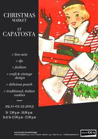 CapaTosta Xmas Markt@CapaTosta soul & pizza
