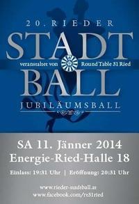 Rieder Stadtball 2014 organisiert von Round Table 31 Ried