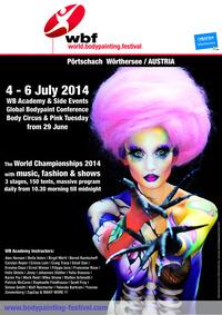World Bodypainting Festival 2014 @Pörtschach