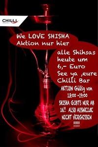 We Love Shisha@Chilli Bar
