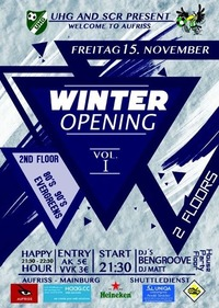 Winter Opening 2013  pesented by UHG  SCR@Aufriss