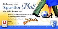 Sportlerball USV Raxendorf@Gasthaus Gruber