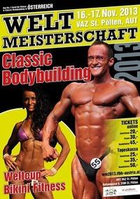 Weltmeisterschaft im Classic Bodybuilding und World Cup Bikini Fitness@VAZ St.Pölten