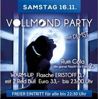 Vollmond Party