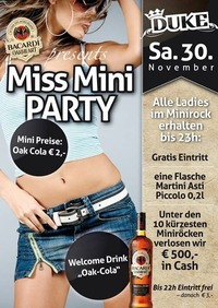 Bacardi Oakheart pres. Miss Mini Party