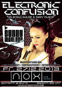 Electronic Confusion - Guest DJane Sunny Marleen@NOX Club