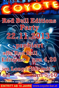 Red Bull Edition Party