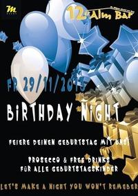 Birthday Night@12er Alm Bar