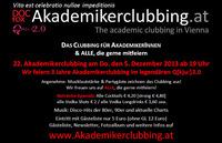 22. Akademikerclubbing - 3 Jahresfeier & Weihnachtsfeier