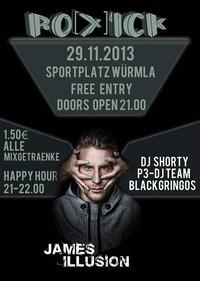 Roxick + Special Guest@Sportplatz Würmla