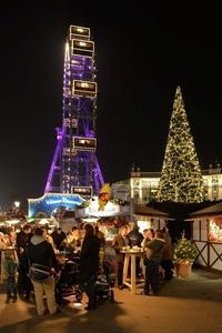 Wintermarkt am Riesenradplatz@Wiener Prater