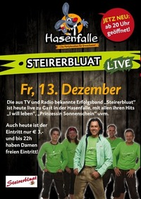 Hasenfalle Steirerbluat Live