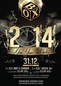 New Years Eve - Silvester@BOX Vienna