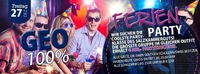 GEO Ferien-Party