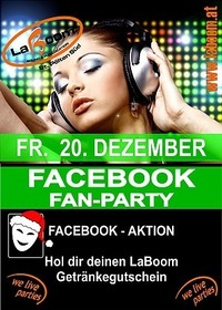 Facebook Fan Party