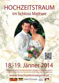 Hochzeitstraum, Hochzeitsmesse-Event@Schloss Mattsee