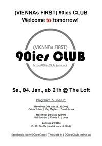 90ies Club: Welcome to tomorrow!