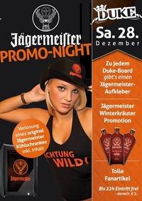 Jägermeister Promo Night
