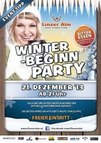 Winter - Beginn Party