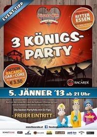 3 König - Party