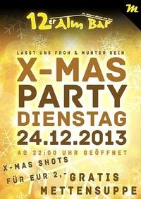 X-Mas Party@12er Alm Bar