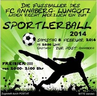 Sportlerball 2014@Gasthof Zur Post
