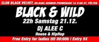 Black & Wild@Black Velvet
