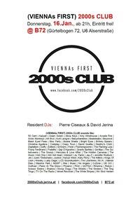 (Viennas First) 2000s Club@B72