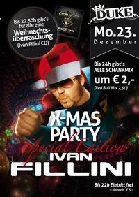 X-Mas Party mit Ivan Fillini