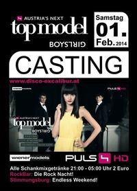 Austrias next Topmodel Casting@Excalibur