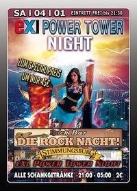 EXl Power Tower Night@Excalibur