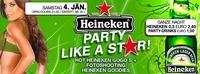 Heineken Party Like A Star m. Hot Gogos@Brooklyn