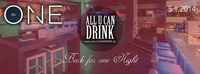 All U Can Drink - Back for one night