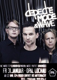 Depeche Mode & Wave!@Opal
