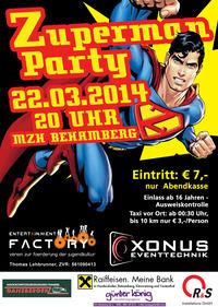 Zuperman Party
