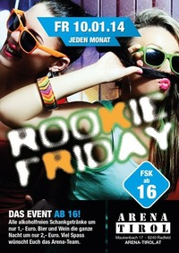 Rookie Friday - ab 16 Jahren@Arena Tirol