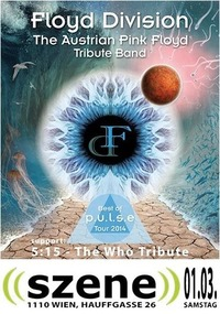A Tribute to Pink Floyd and The Who@((szene)) Wien