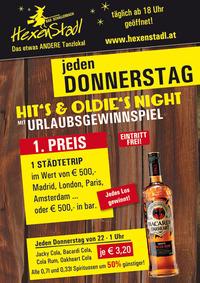 Hits & Oldies Nights @Hexenstadl